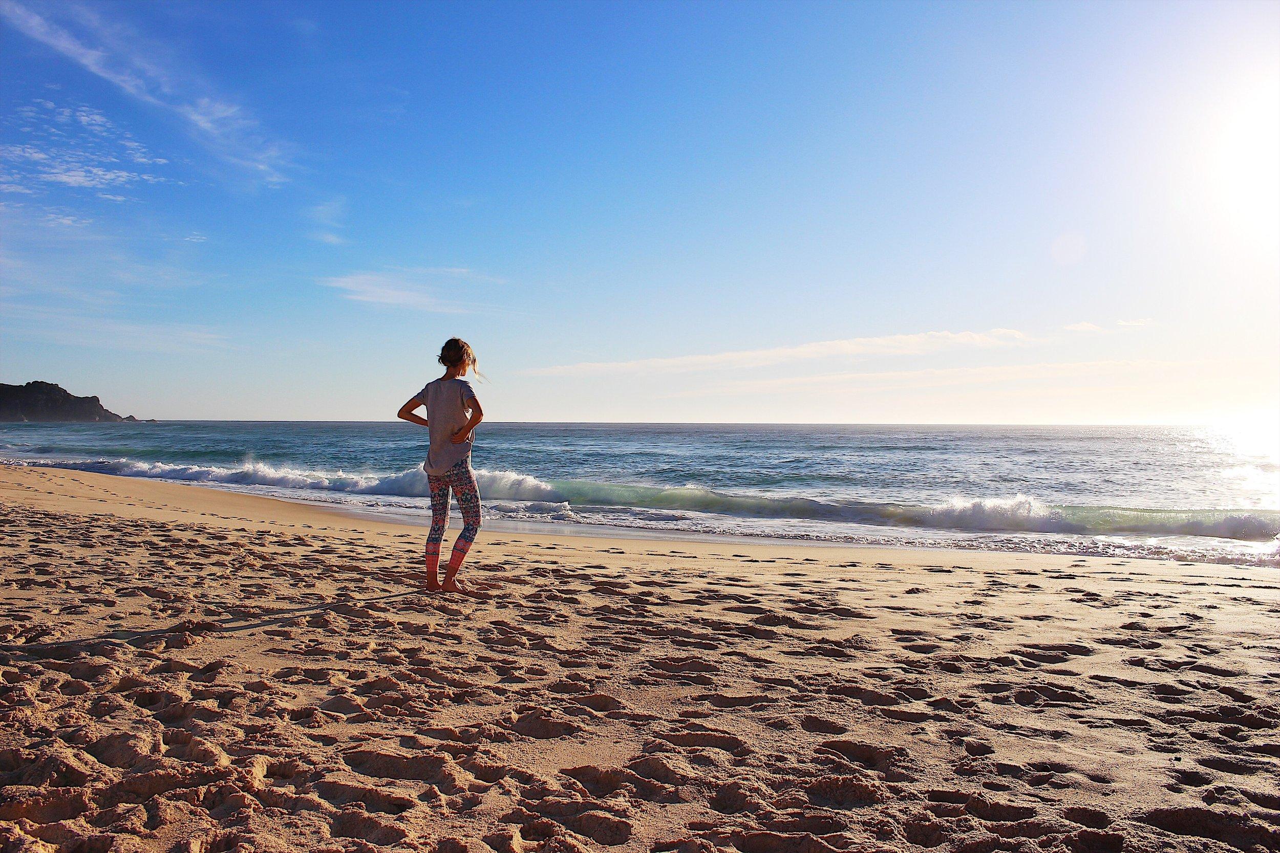 Me on Boomerang Beach, NSW