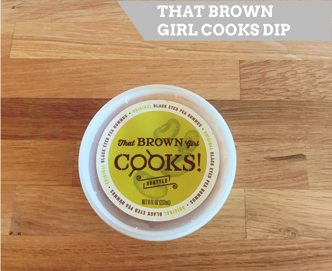 That Brown Girl Cooks Black Eyed Pea Hummus