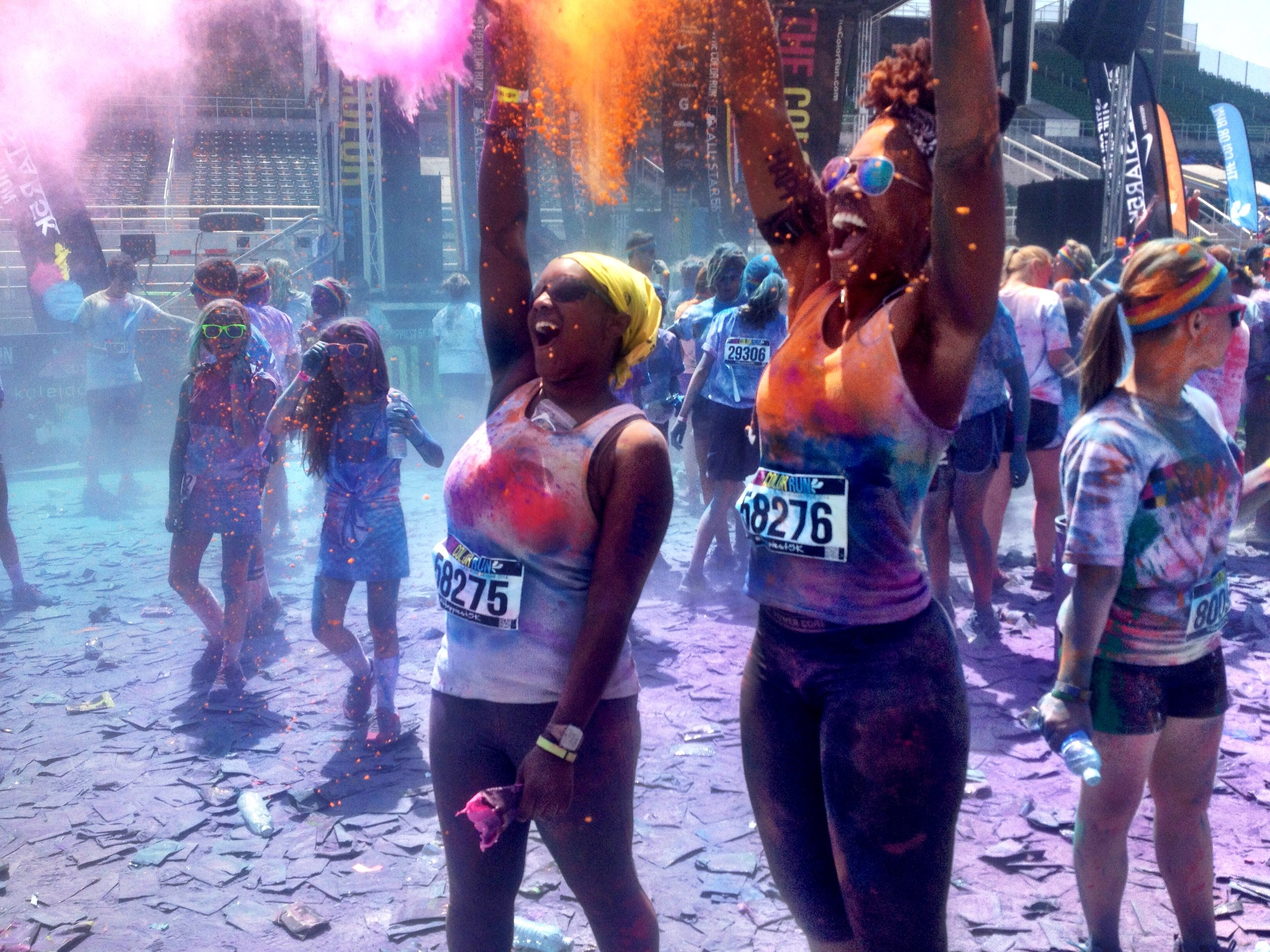Color Run 2014 in Minneapolis, MN
