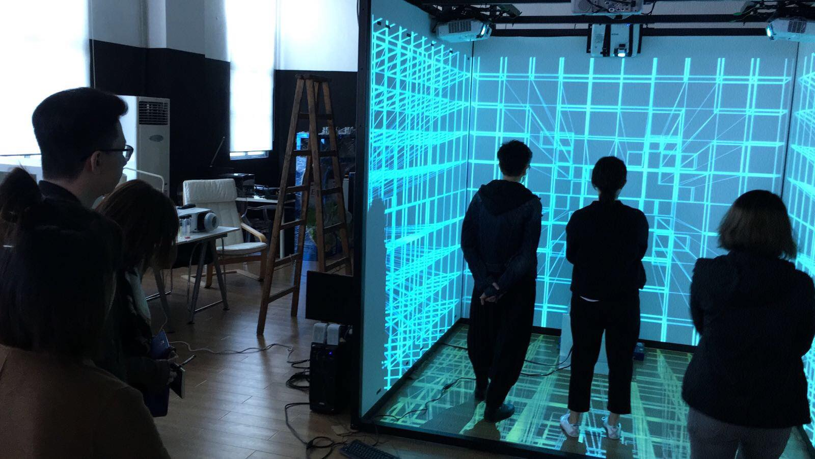 Immersive Projection Mapping Calibration in 3Ds INNO Lab
