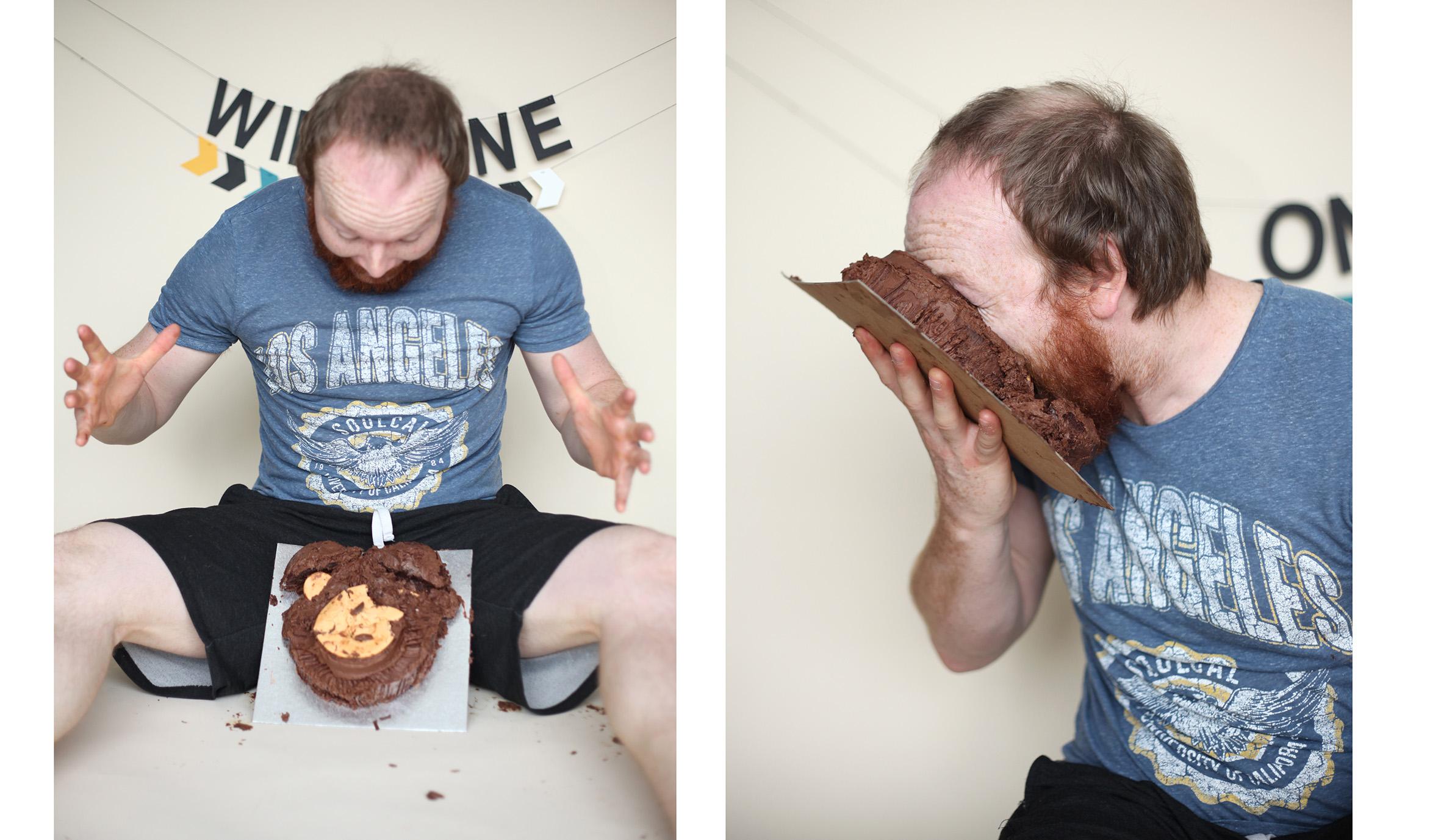 Adult cake smash huddersfield