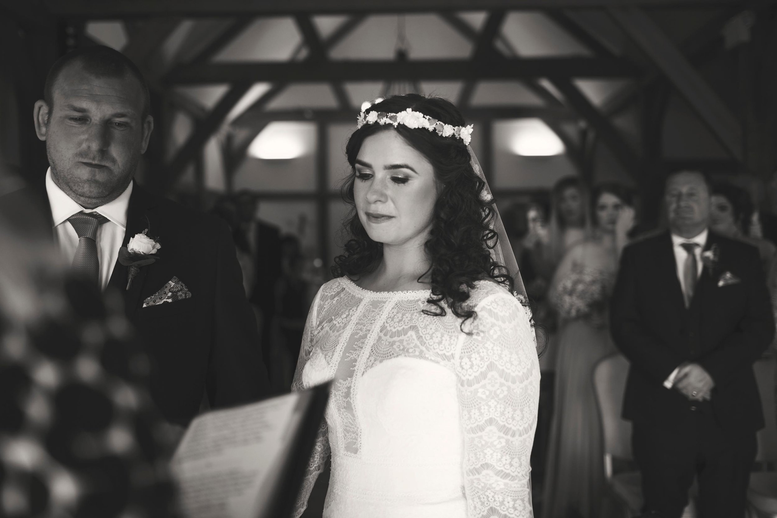 Beautiful bride on her wedding day in cheshire