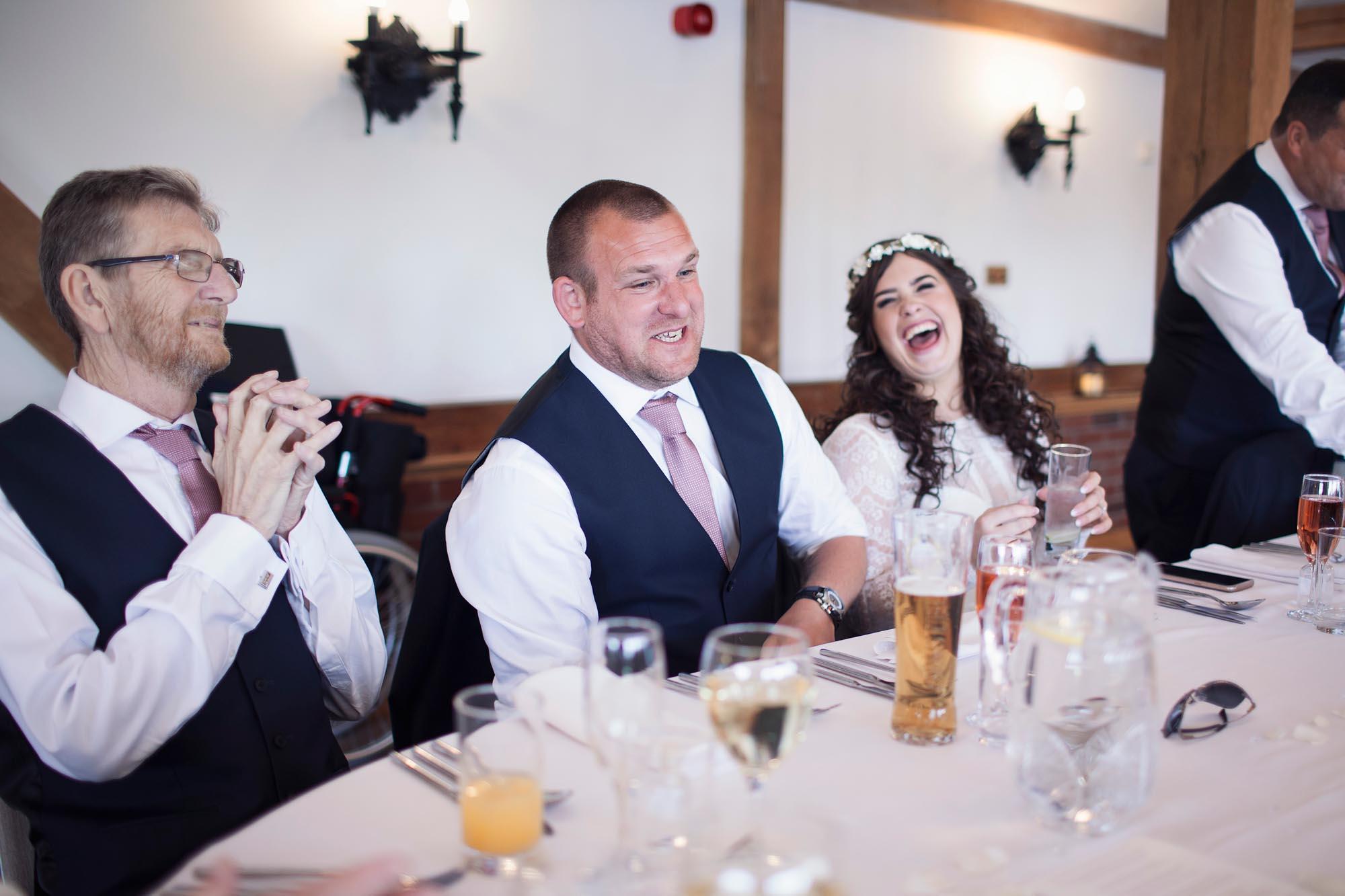 Bride and groom documentary photography cheshire wedding