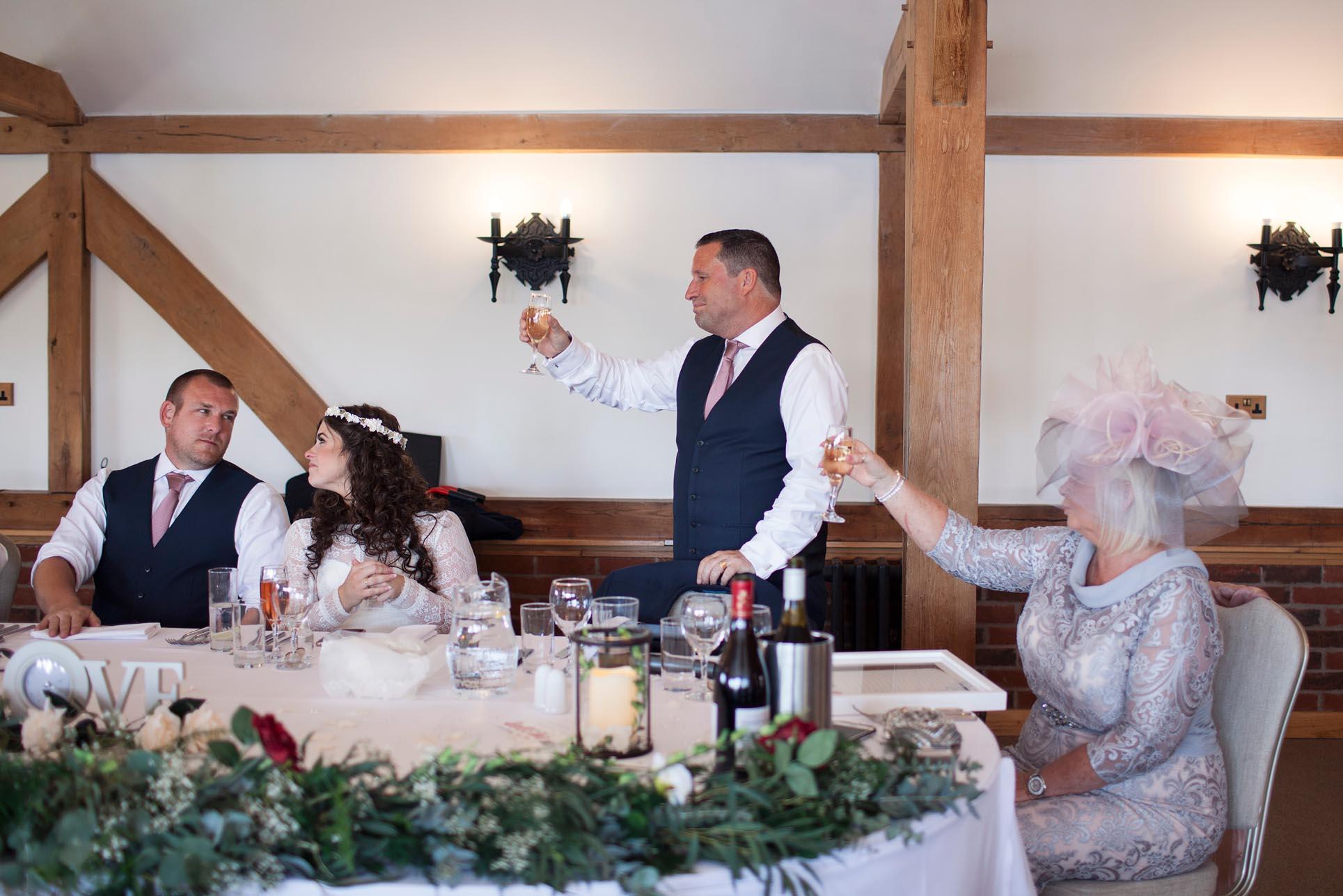 celebration speech wedding photography