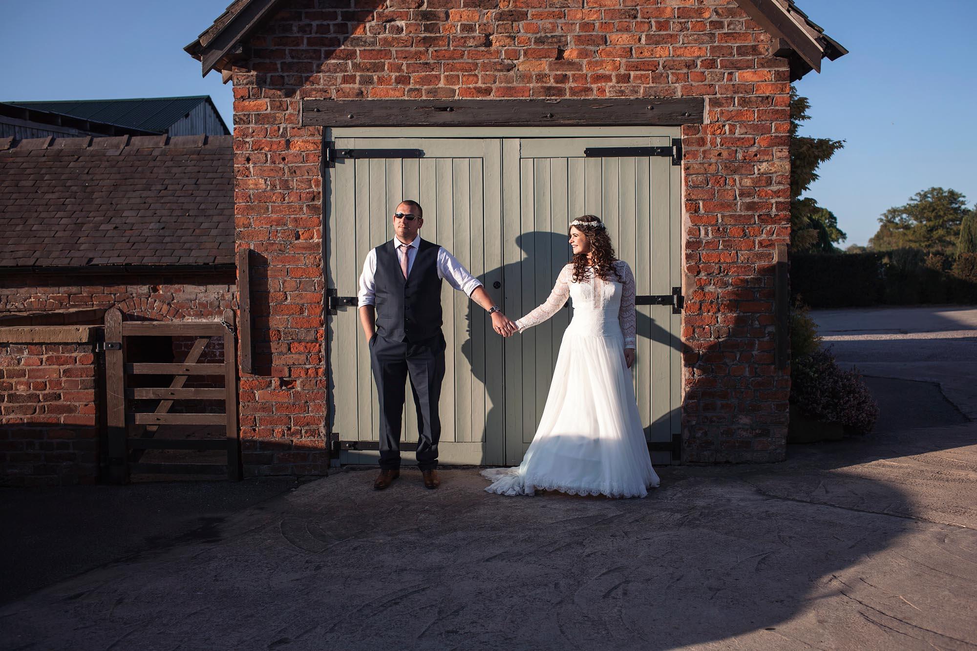 barn wedding photography cheshire leeds
