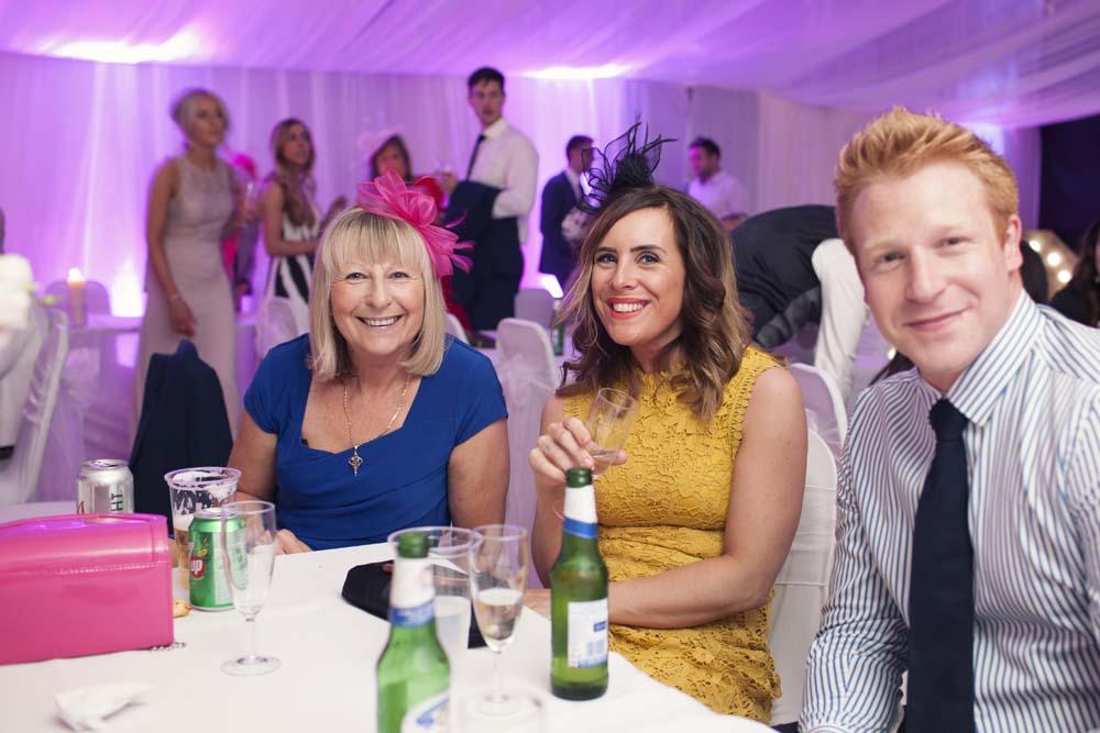 DIY wedding Preston Lancashire wedding guests