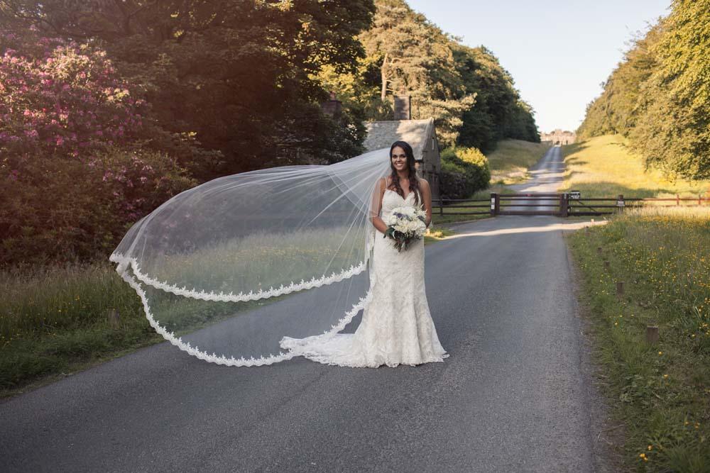 Gorgeous bridal photography in Preston Lancashire