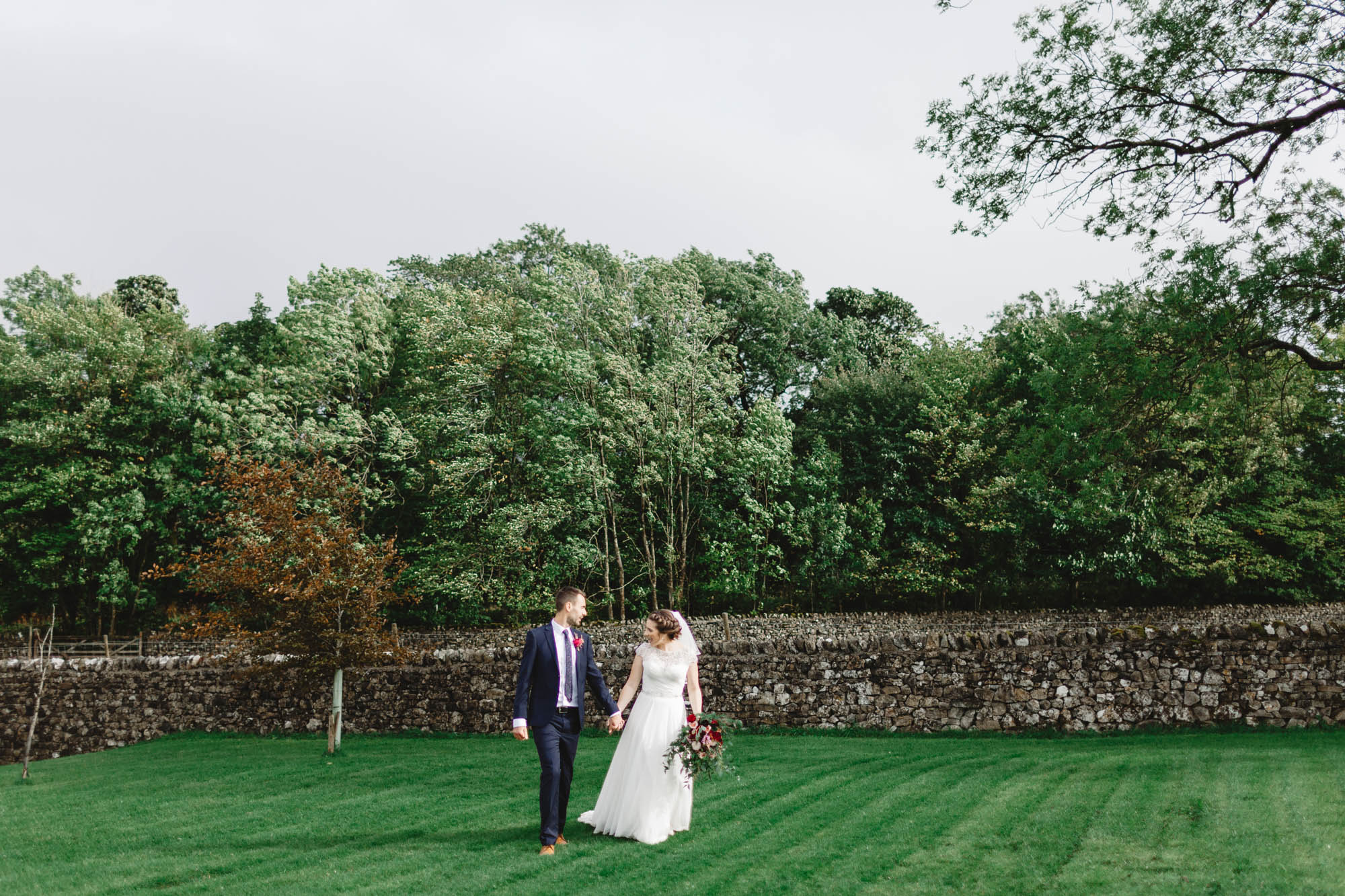 Photography from a North Yorkshire Wedding, Leeds, romantic, outdoor ceremony, DIY wedding, candid, relaxed fun photographer Huddersfield, couples shot