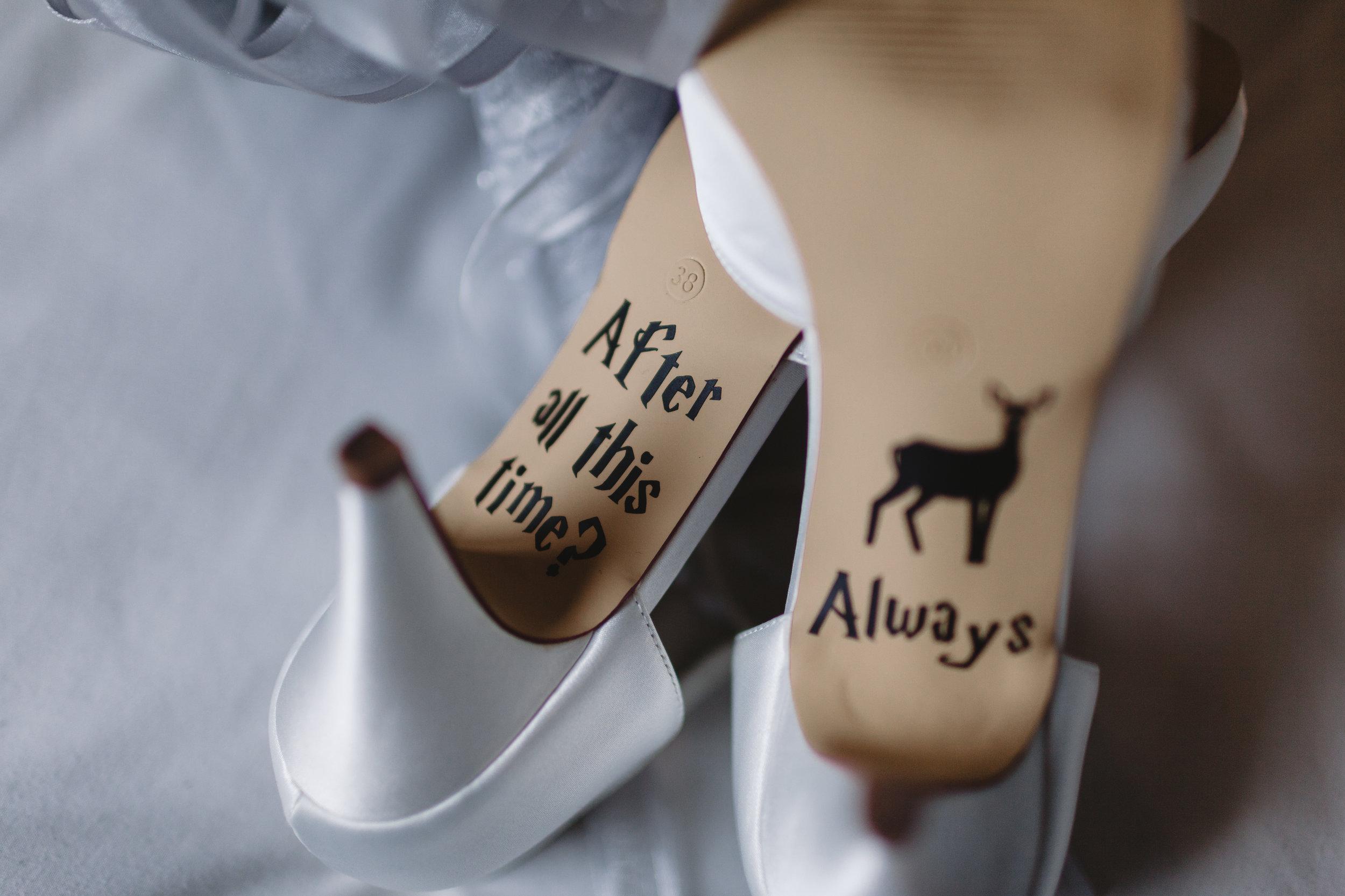 Mirfield wedding bridal shoes