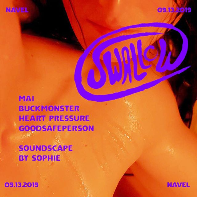 👼Tickets are now on sale! Friday September 13 @navel.la will host a one-night glimpse of SWALLOW, an unbuilt queer club designed by @justfouryouuuu & @georginaarmani_ DJs sets by Mai, @buckmonster, @steph_russ & goodsafeperson. Featuring soundscape by @sophie_msmsmsm ✨ . . SWALLOW intends to equip Los Angeles with a reliable and accessible center for creativity and nightlife. Designed by and with the community, the architecture of SWALLOW mimics the contraction and expansion of control and freedom. . . $15 early bird tickets are available now & $20 pre-sales available through 9/6... $25 general admission tickets will be available online & @ the door. No one will be turned away for lack of funds. Reach out to contact@navel.la and tell us what's up and we'll do our best to accommodate. Ticket link in bio 🔗 📸 by @riccardobanfi_