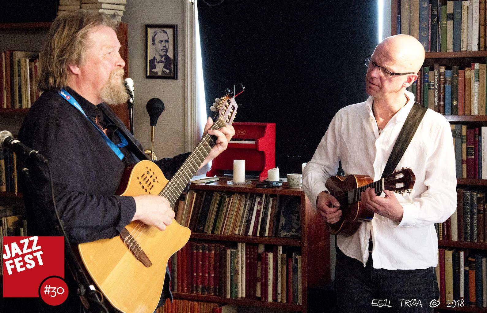 Tom S.Lund og Andreas Aase på Antikvariatet.jpeg