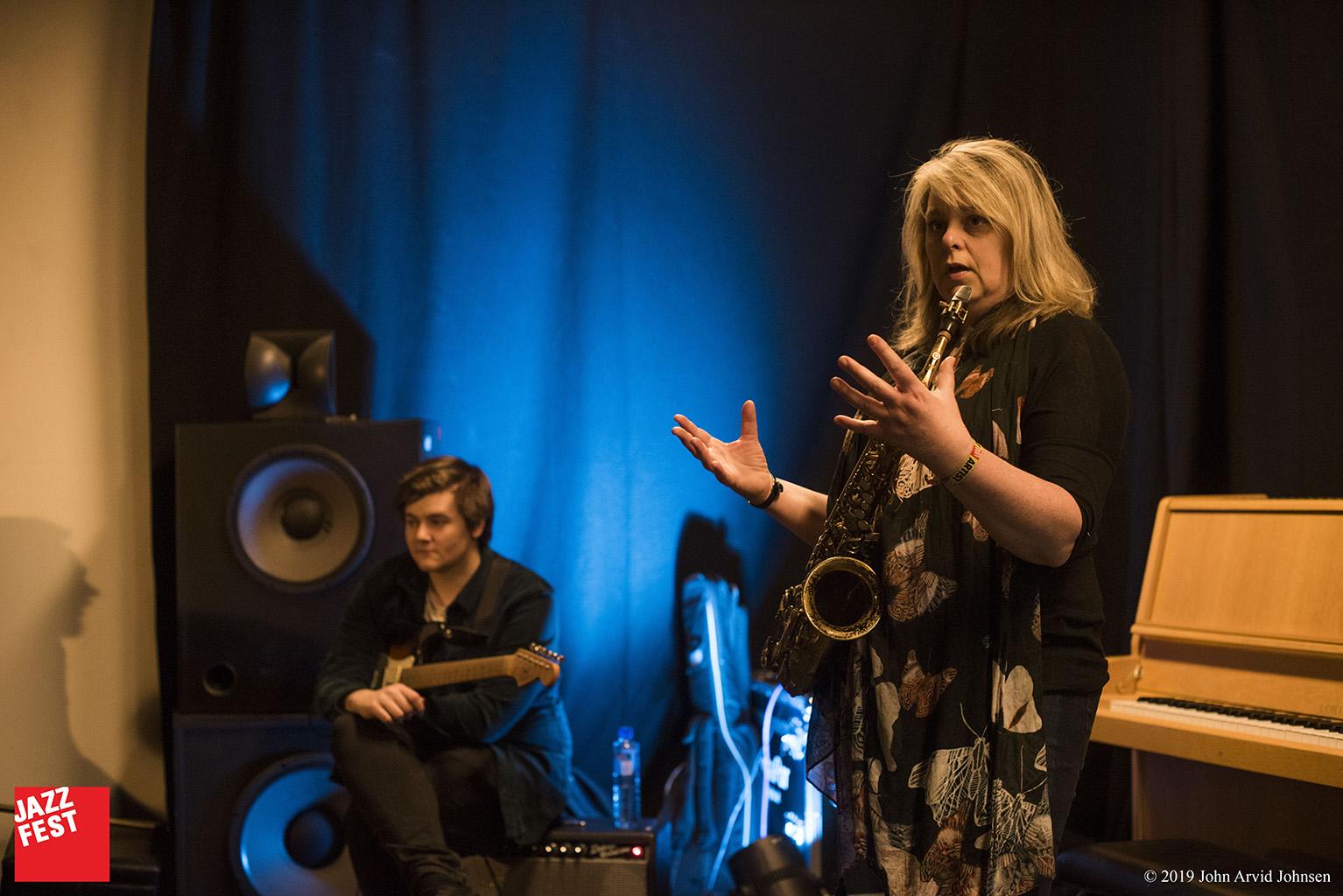 FOKUS med Christine Jensen på Cinemateket. Foto: John Arvid Johnsen