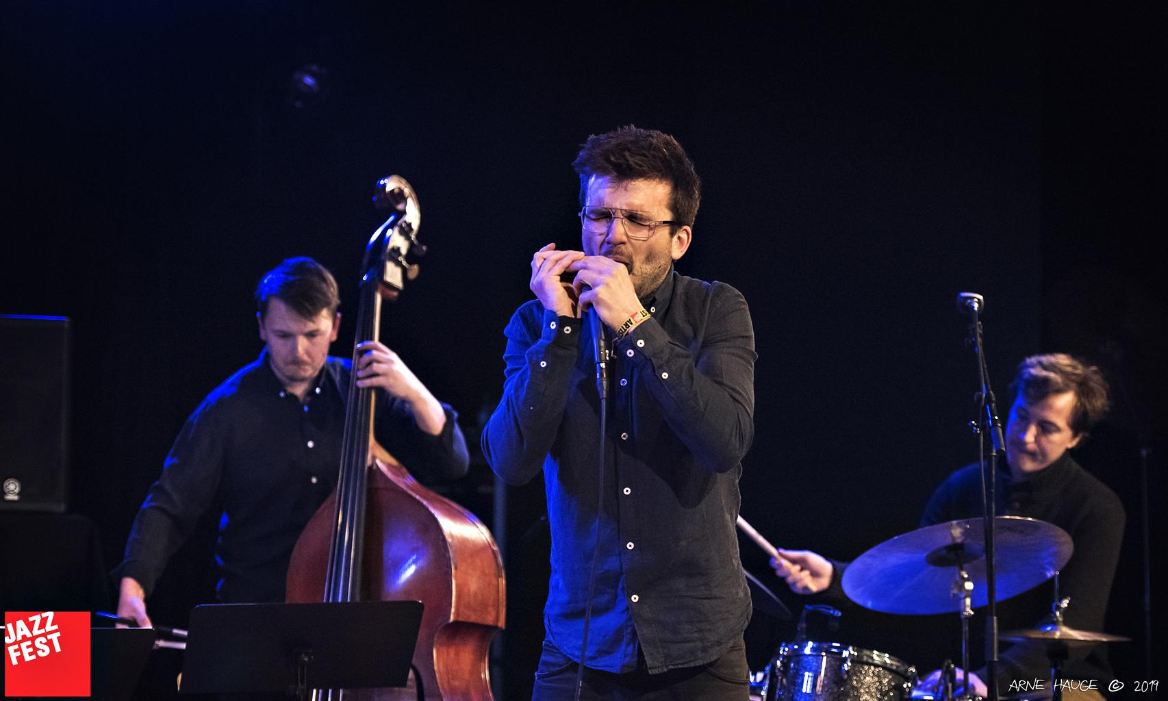 Sondre Ferstad Ensemble på Dokkhuset. Foto: Arne Hauge