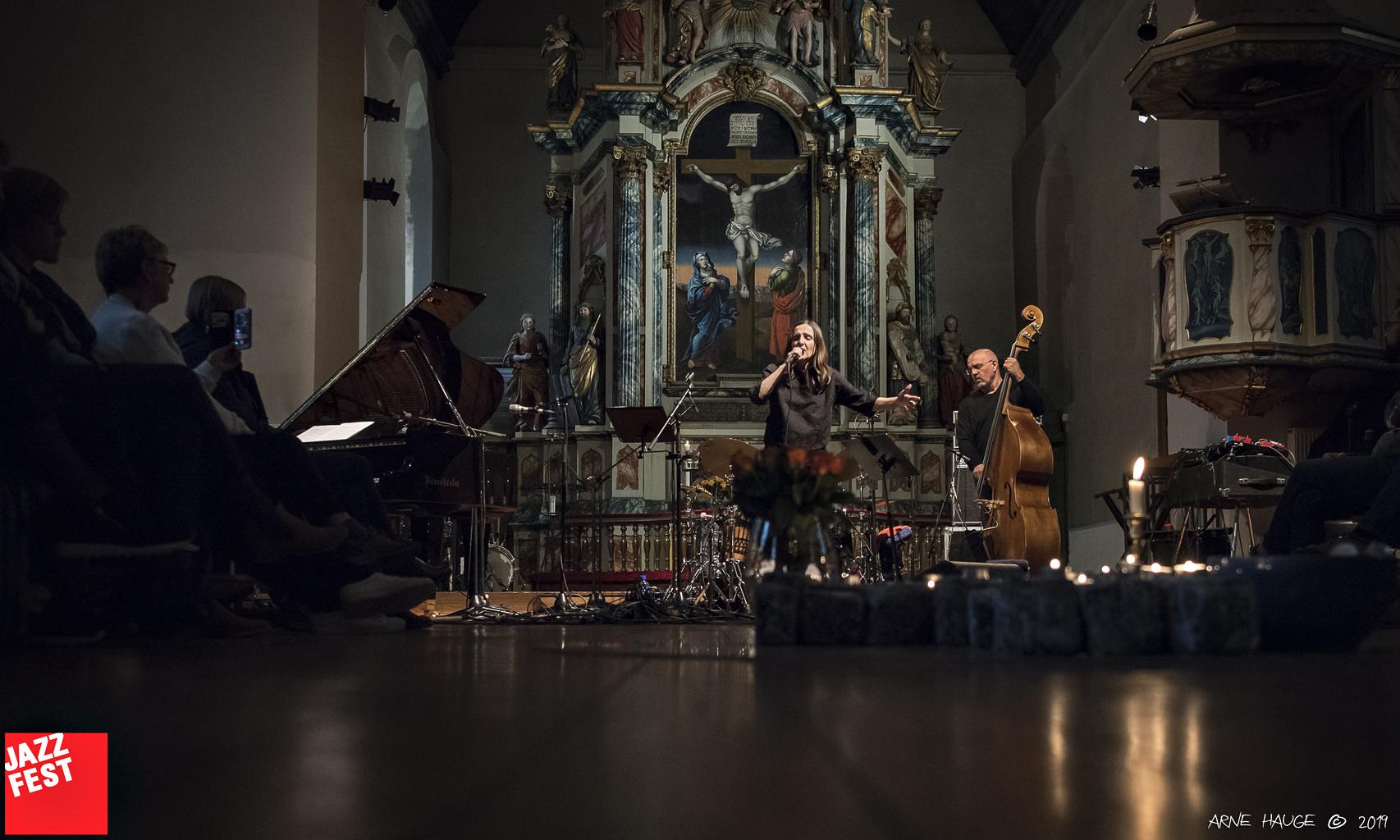Tamara Obrovac TransAdriatic Quartet i Vår Frue kirke. Foto: Arne Hauge