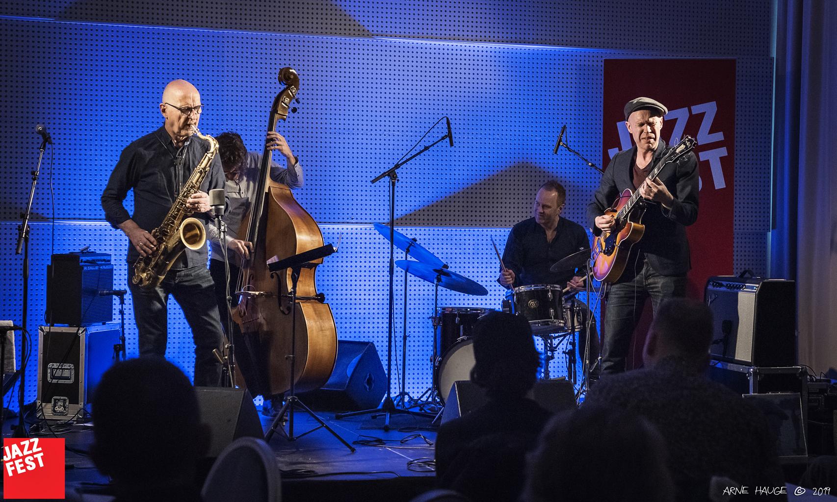 Håvard Stubø Quartet på Scandic Nidelven. Foto: Arne Hauge