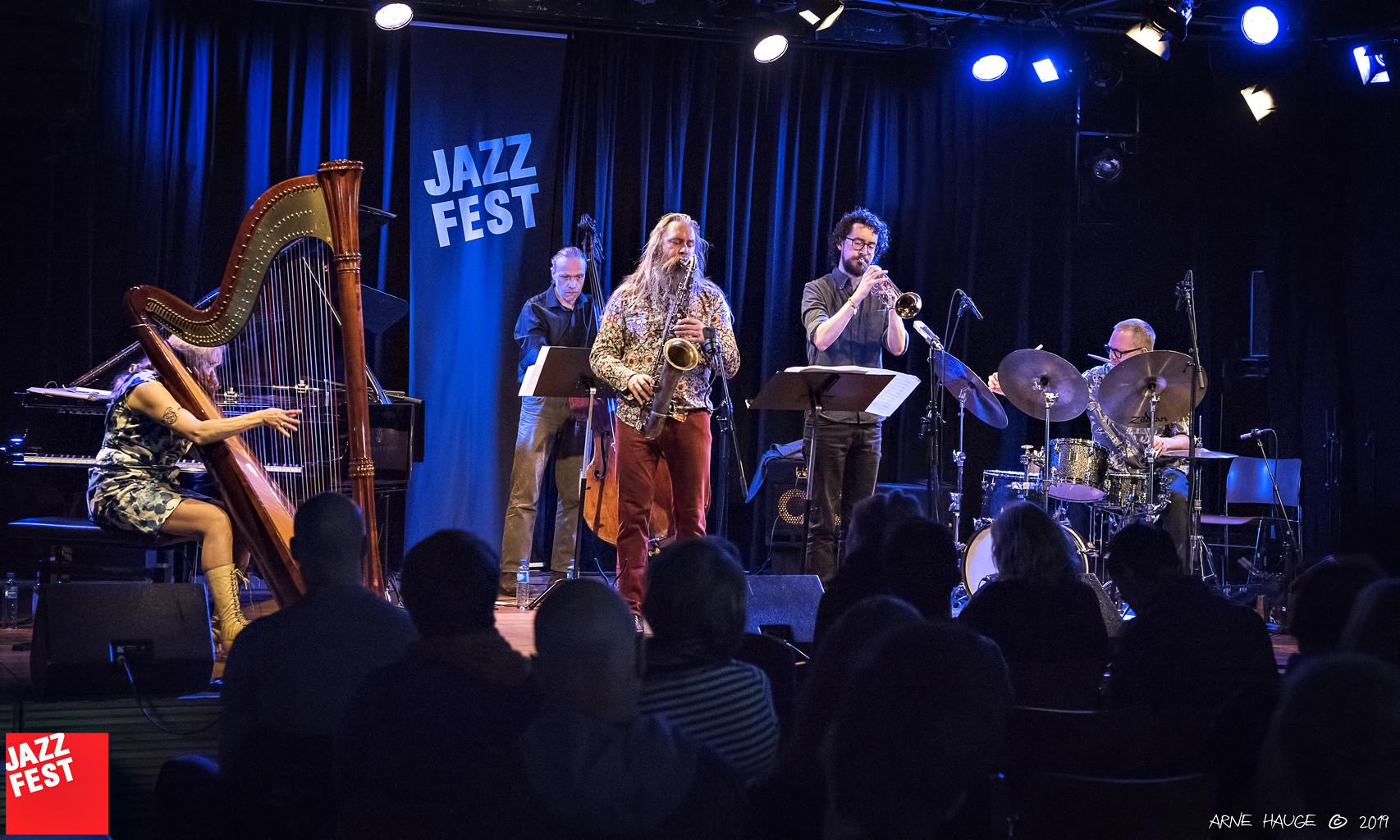 Iro Haarla Quintet på Dokkhuset. Foto: Arne Hauge