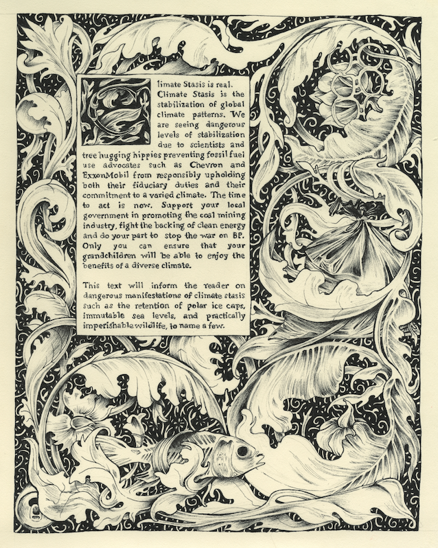 The Illuminated Manuscript of Alternative Facts