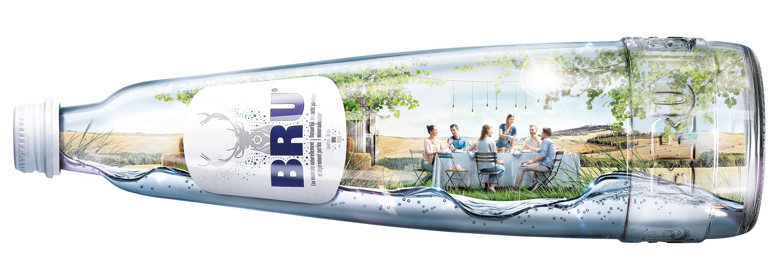 Bru bottle