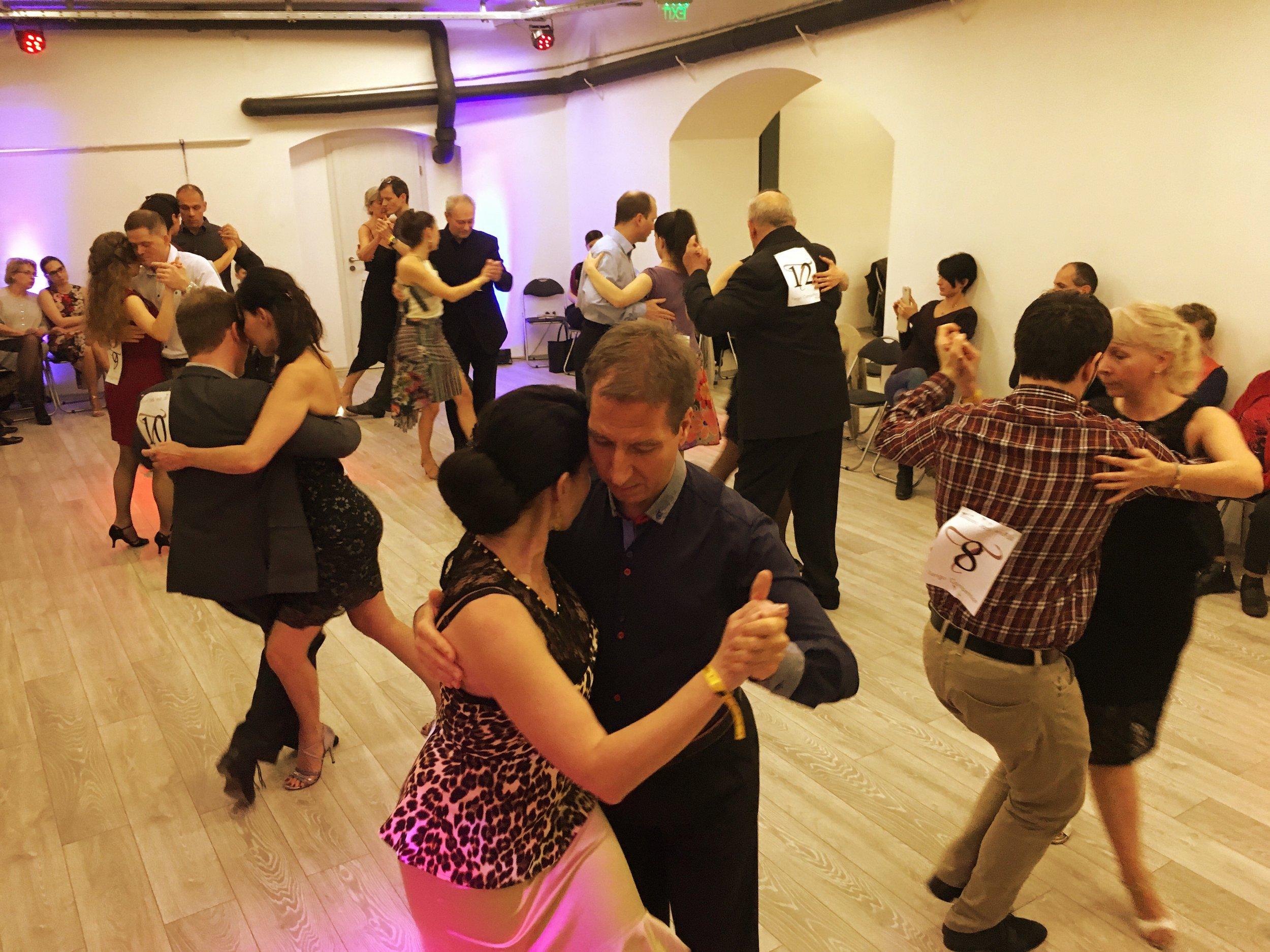 IV. Budapest Jack and Jill Tango Competition, The semi-final, Art's Harmony Studio, 08.12.2017.
