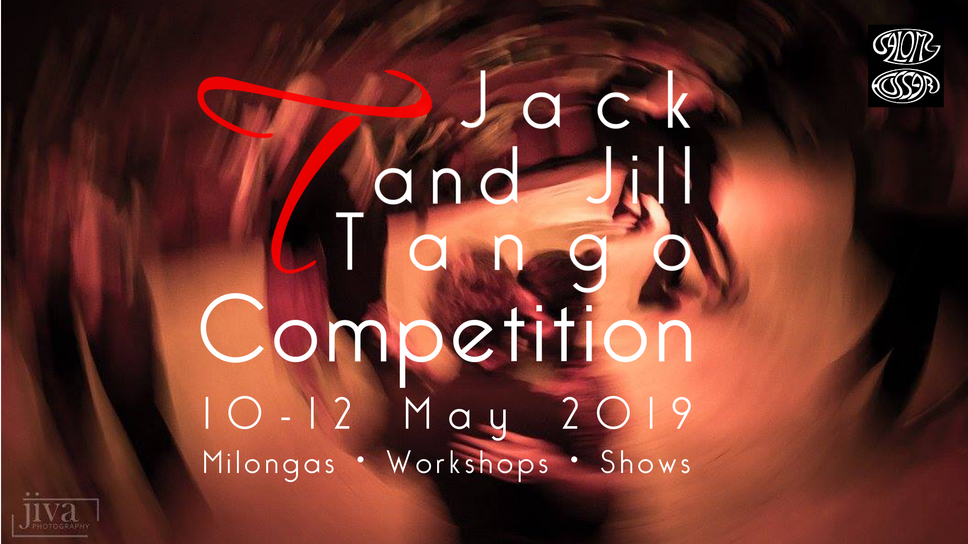 Jack and Jill Tango® Event and Competition - in Budapest from May 10-12.