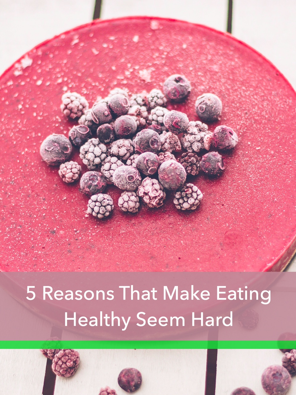 5 reasons eating healthy seem hard