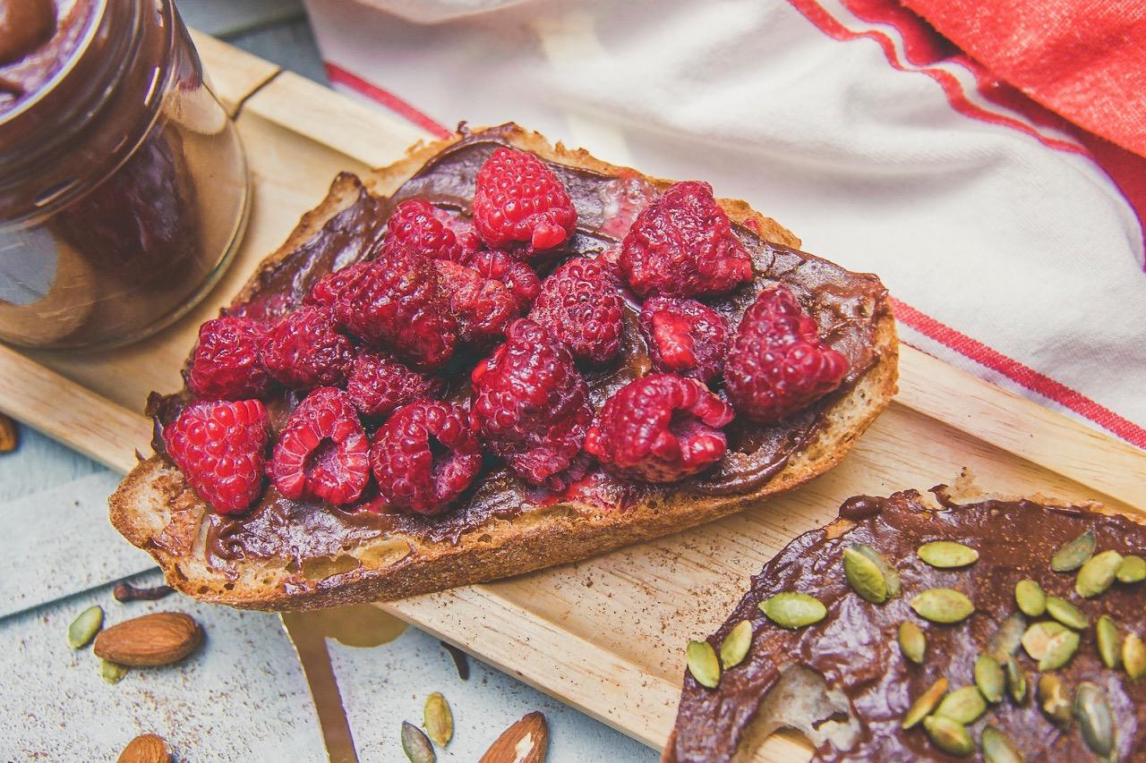 homemade chocolate almond butter recipe vegan dairy free refined sugar free