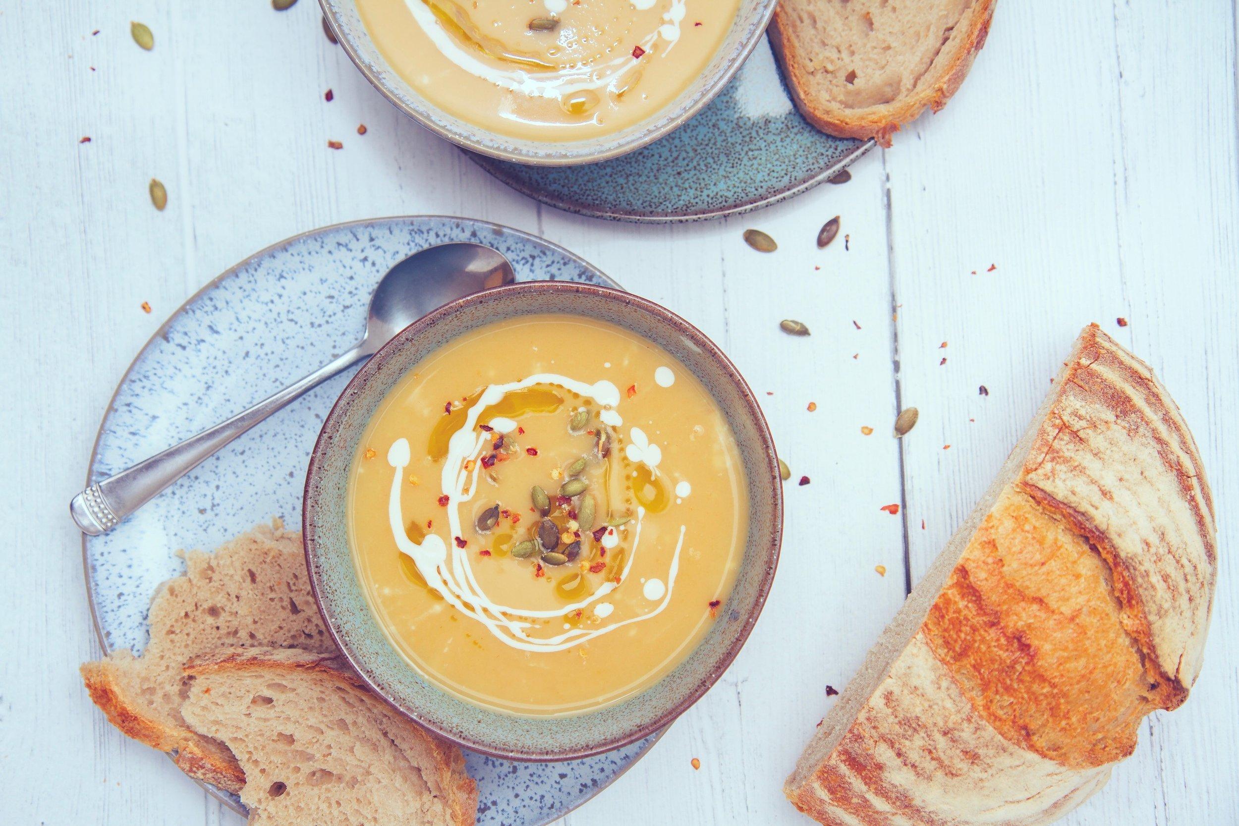 carrot miso parsnip soup recipe