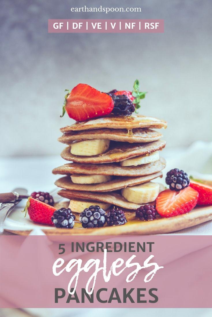 eggless vegan pancakes recipe