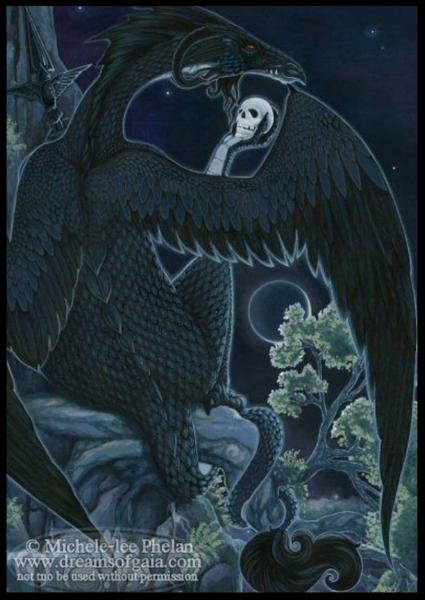 """Make the Sacrifice"" card from Ravynne Phelan's Messenger Oracle deck."