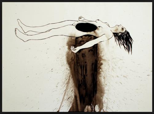 """Black Core"" by  Deborah Randall"