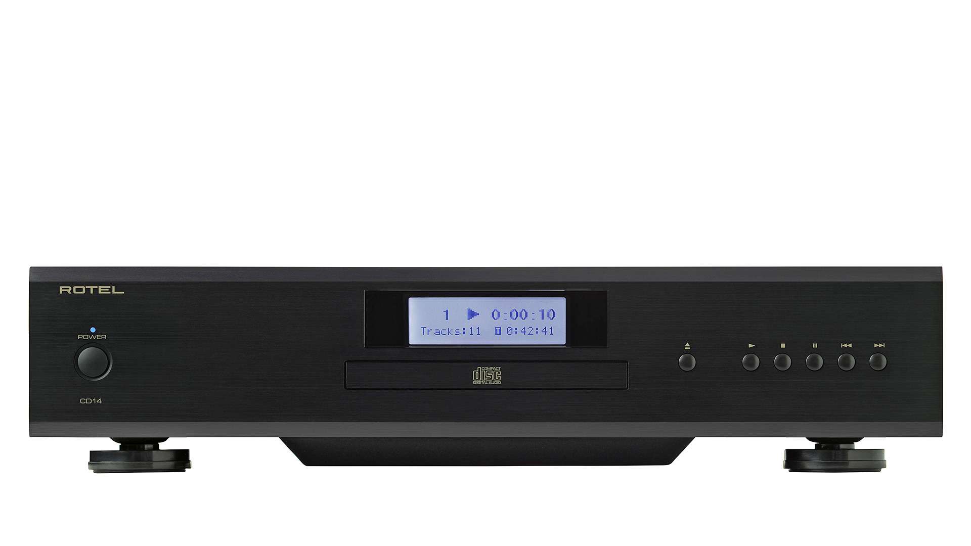 Rotel CD14 CD Player at Creative Audio in Winnipeg (Black)