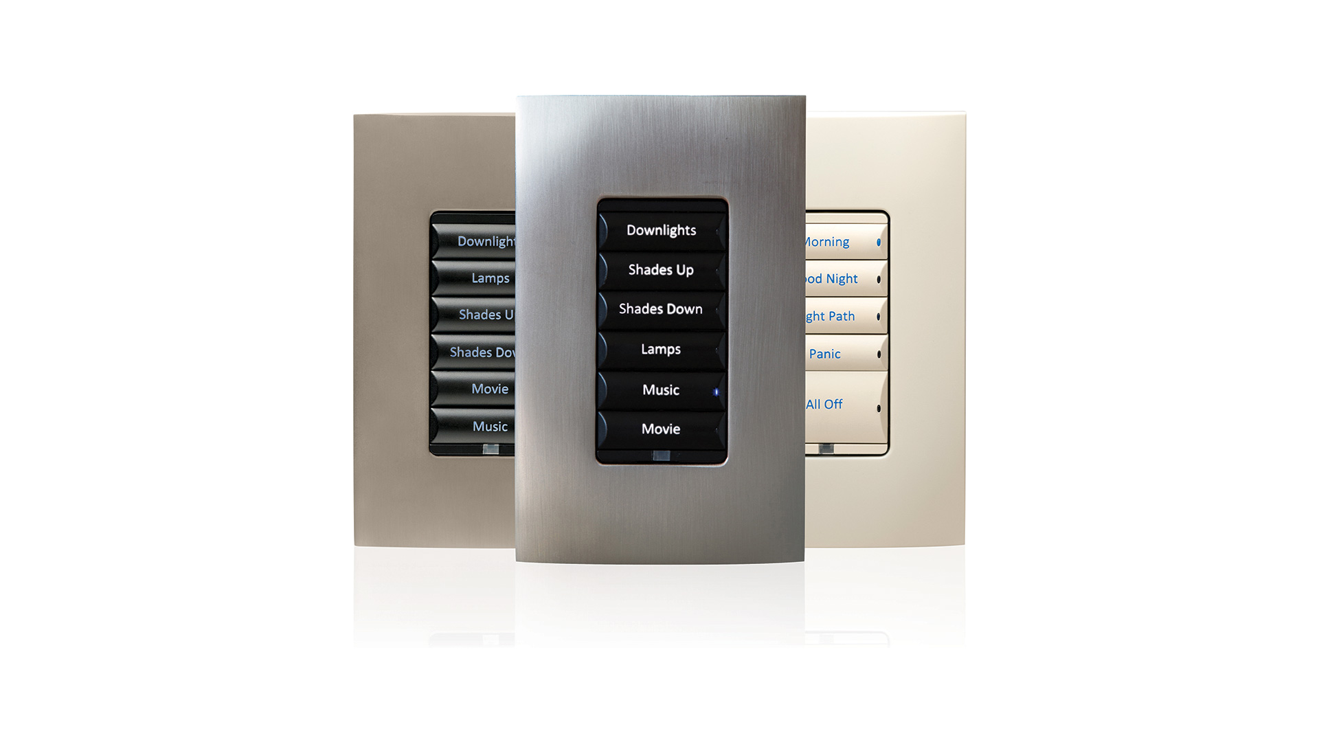 Control4 Wireless Keypad Dimmer (engraved keycaps)