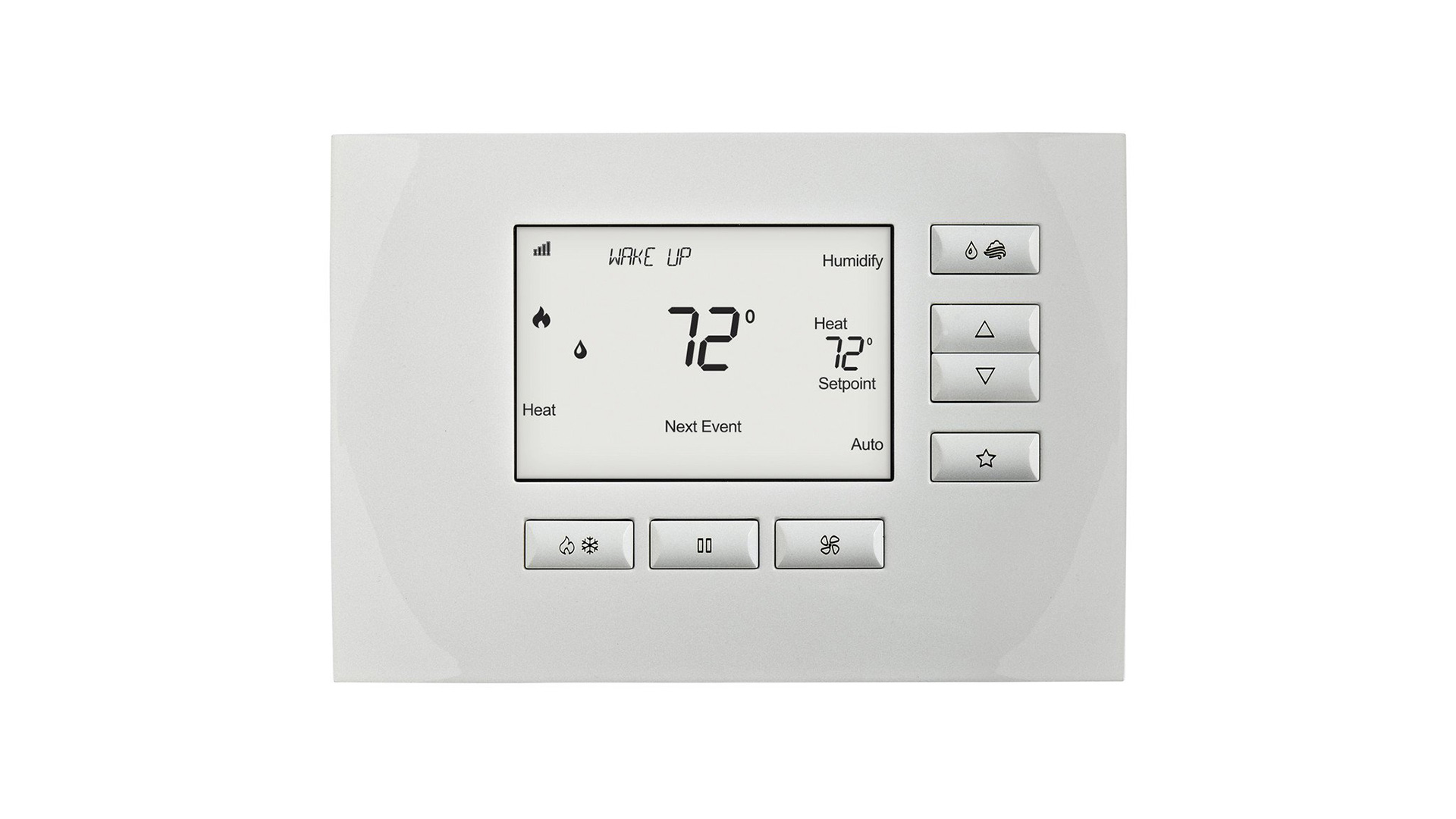 Control4 Wireless Thermostat by Aprilaire at Creative Audio in Winnipeg