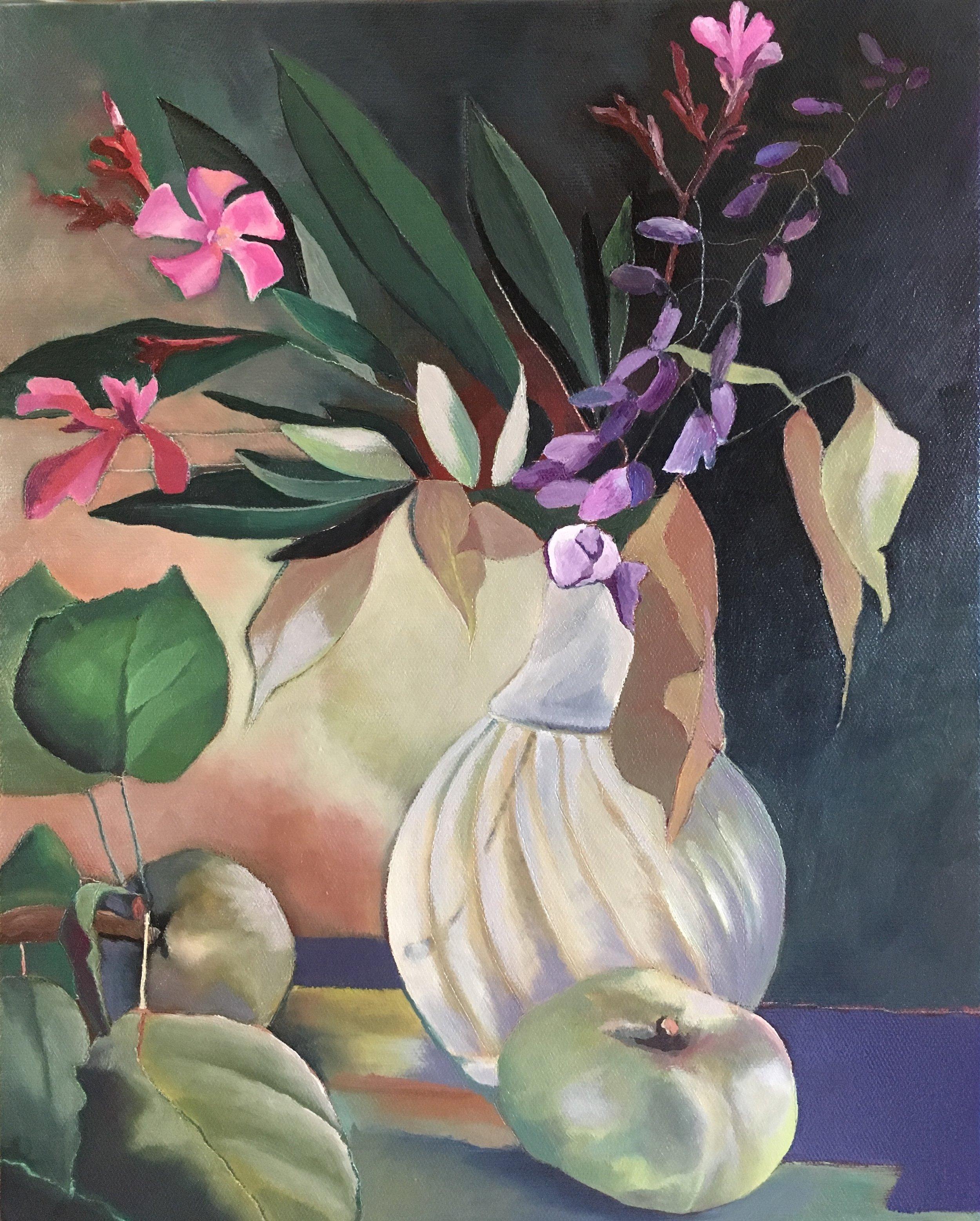 Oil on canvas 33 x 41cm, 2018