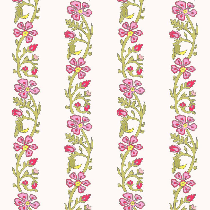 Kathryn Stripe: Pink