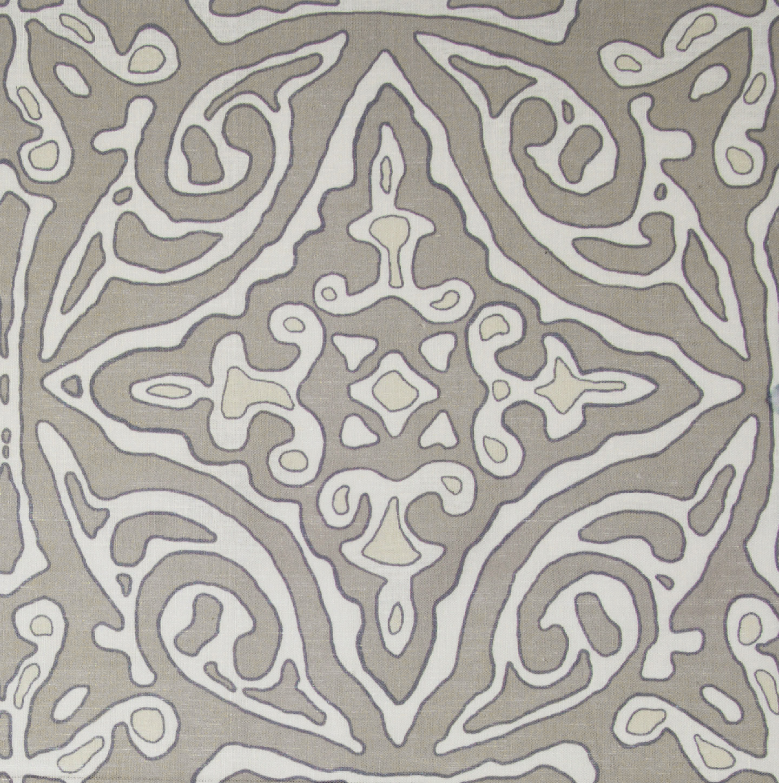 Large & Medium Diamond Batik: Grey
