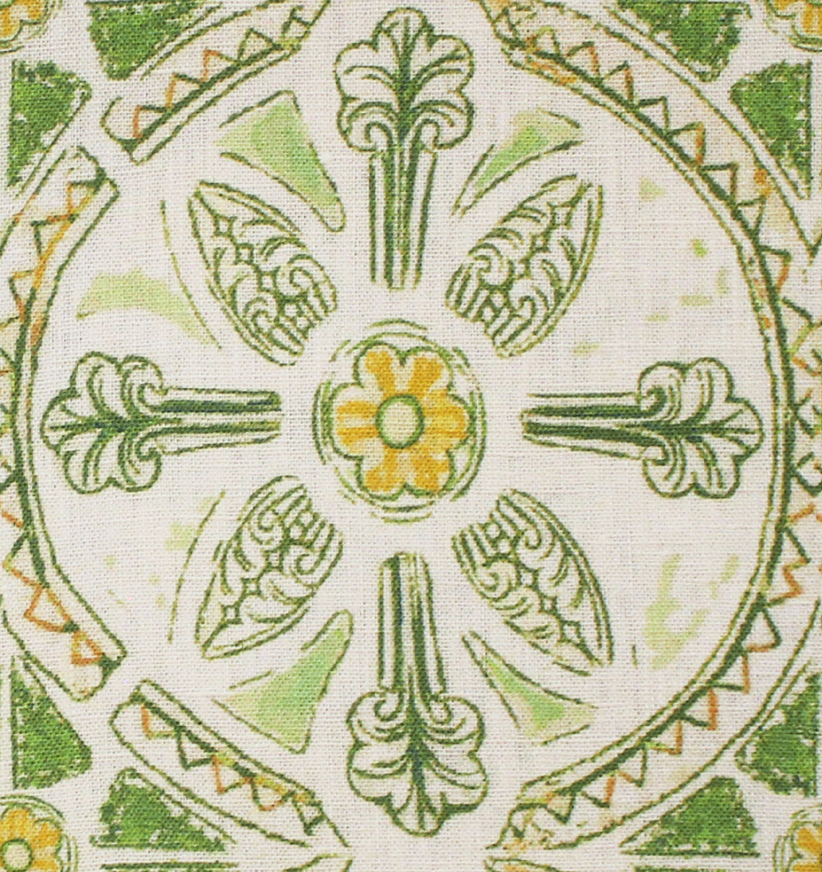 Grand Circle Batik: Green