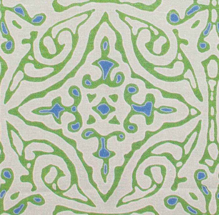 Large & Medium Diamond Batik: Green