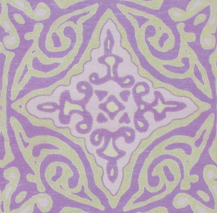Large & Medium Diamond Batik: Lilac