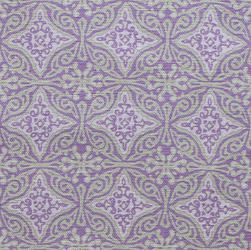 Small Diamond Batik: Lilac
