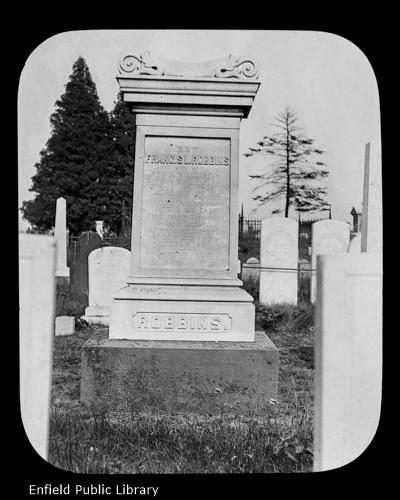 Rev. Francis L. Robbins Monument
