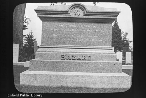 Col. Augustus G. Hazard Monument