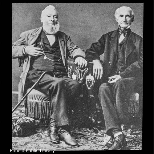 Col. Robert M. Abbe and Henry A. Abbe