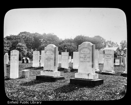 Charles Clark Headstone