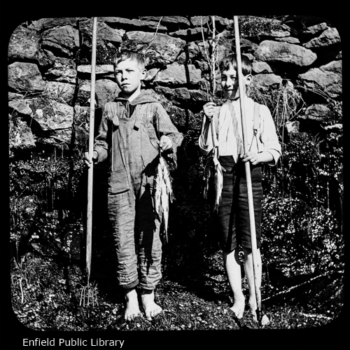 Mat. Peltor and Harold Neelans