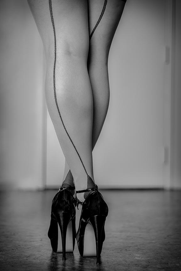 Amazing Boudoir Photography Legs
