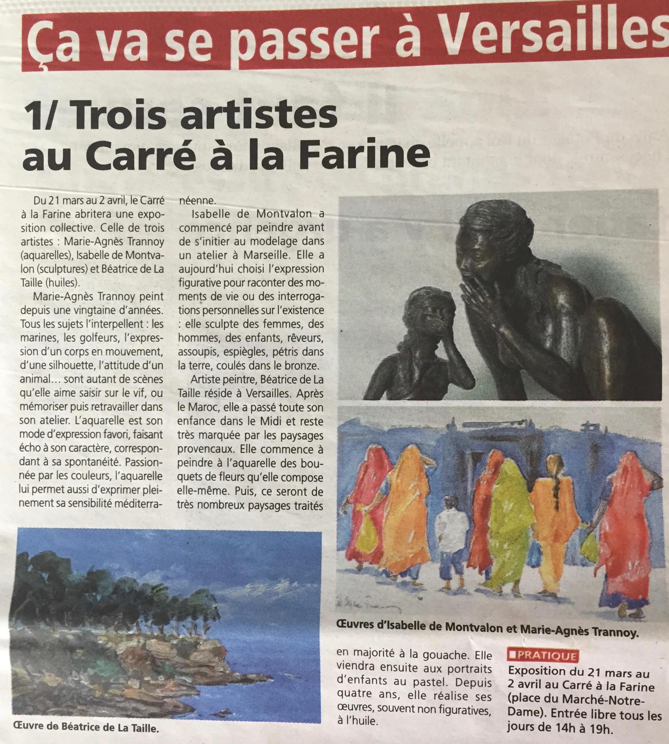 Toutes les nouvelles. Hebdomadaire des Yvelines  - Mercredi 15 mars 2017
