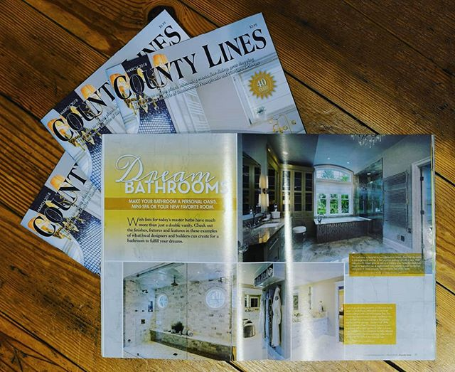 See cabinetry from @ChristianaFactoryStudio in the latest edition of @countylinesmagazine.  Modern, metric design, European flair. To see the full project, check link in bio. ★★★★★★ #customcabinetry #dreambathroom #christianafactorystudio #designlovers #homedesigns #interiordesign #bathroomgoals #inspiration #renovation #homestyling #custom #design #luxury #modernhome #modernbathroom #moderndesign #oldhouselove #customhome #designbuild #christianacabinetry #villanova #spa #takeashower #greygray #nautical #internationalmetric #rainshower #CFSadvantage #craftsmanshipforlife #designfabricationinstallation
