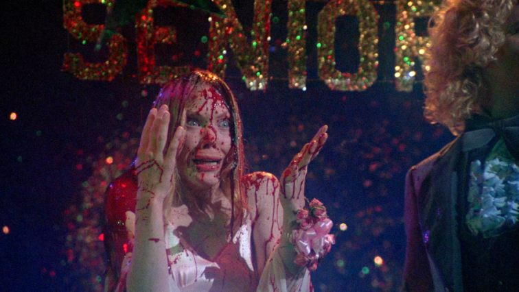 Exceptional Sissy Spacek as Carrie