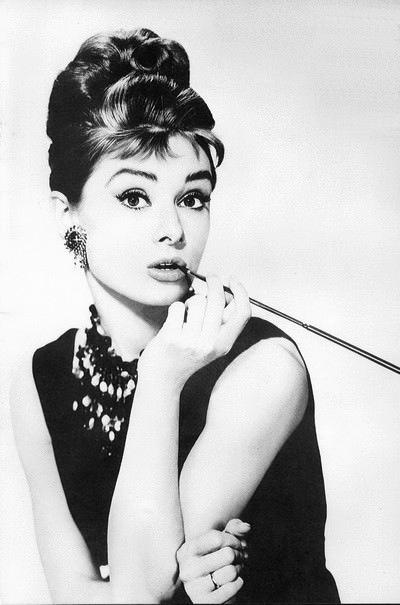 Audrey Hepburn, icon of style.